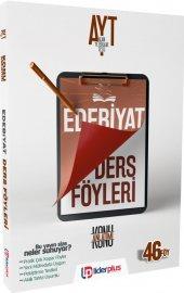 Lider Plus Yayınları Ayt Edebiyat Konu Anlatımı Ders Föyü