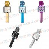 Ws 858 Bluetooth Karaoke Mikrofon Kablosuz Hoparlör