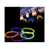 10 Adet Glow Stick Bracelet Fosforlu Kırılan Çubuk Bileklik