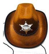 Yetişkin Ve Çocuk Kovboy Şapkası Şerif Şapkası Gösteri Şapkası