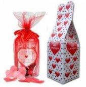 14 Şubat Sevgililer Günü Aşk Kavanozu 365 Aşk Mesajlı 18x12 Cm