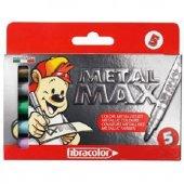 Fibracolor Metalmax Dekorasyon Kalemleri Keçeli Metalik 5 Renk