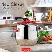 Schafer Shf 3450 Nova Neo Classic 8 Lt Düdüklü Tencere