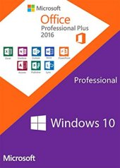 Windows 10 Home Pro Enterprise + Microsoft Office 365 2016 2019