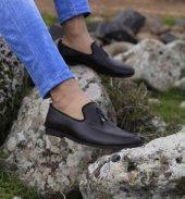 Lfg Karayel Kahverengi Püskül Detaylı Günlük Ayakkabı