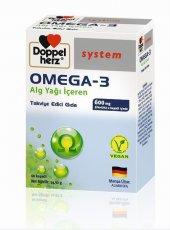 Doppelherz Omega 3 Alg Yağı İçeren 60 Kapsül (Vegan)