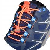 Akıllı Kilitli Elastik Ayakkabı Bağcık 100 Cm Sürpriz Hediyeli