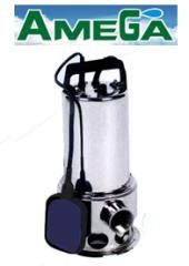 Amega İntox750 Paslanmaz Gövdeli Dalgıç Pompa (Açık Fanlı)