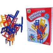 Denge Sandalyeleri Eğitici Oyuncak Zeka Ve Beceri Geliştiren Oyun