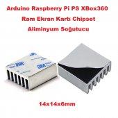 Arduino Ps Xbox360 Ram Ekran Kartı 14x1x6mm Aliminyum Soğutucu