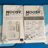 Nano Sim Micro Sim Standart Sim Kart Adaptörü Set Beyaz