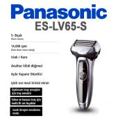 Panasonic Es Lv65 S803 Elektrikli Ve Şarjlı Islak ...