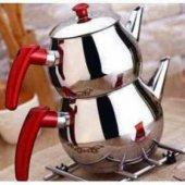 çelik Çaydanlık Küre Küçük Boy