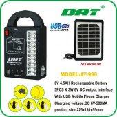 Güneş Enerjili Set Dat 999