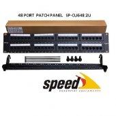 Speed 2u 48port Cat6 Utp Patch Panel Sp Cu648
