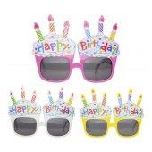 Happy Birthday Parti Gözlüğü