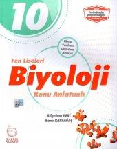 10. Sınıf Fen Liseleri Biyoloji Konu Anlatımlı Palme Yayıncılık