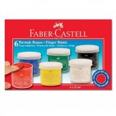 Faber Castell Parmak Boyası 6 Renk