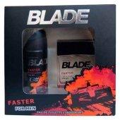 Blade Parfüm Deodorant Set Bay Faster