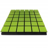 Akustik Kare Sünger 5 Cm Yeşil 49x49 Cm
