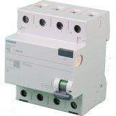 Siemens 3x40a 30ma Kaçak Akım Sigortası