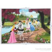 Disney Princess Puzzle (Yapboz) 50 Parça