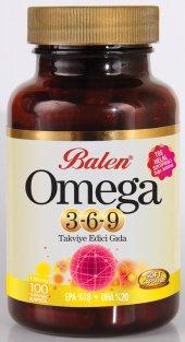 Balen Omega 3 6 9 100 Kapsül