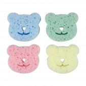 Bebedor Renkli Bebek Banyo Süngeri 4lü Paket