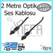 Optik Ses Kablosu 2 Metre Garantili Ürün