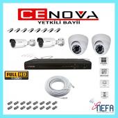 Cenova 4 Lü Ahd Güvenlik Kamera Sistemi