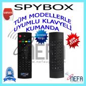 Spybox Ürünleri İçin Uyumlu Klavyeli Kumanda