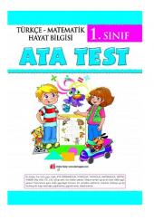 Ata 1.sınıf Test 2019