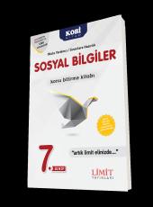Limit Yayınları 7. Sınıf Sosyal Bilgiler Konu Bitirme Kitabı Yeni