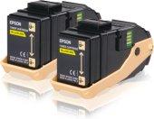 Epson C13s050606 Ikılı Yellow Toner Al C9300dn, Al C9300dtn, A