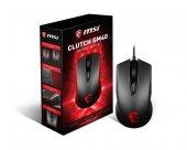 Msı Gg Clutch Gm40 Black Gaming Mouse 5.000 Dpı Pixart Pmw3310 Op