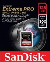 128gb Sd Kart 300mb S Ext Pro C10 Sandısk Sdsdxpk 128g Gn4ın