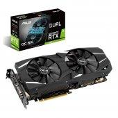 Asus Geforce Dual Rtx2060 O6g 6gb Gddr6 192bit 1755mhz Oc 1xdvı 2