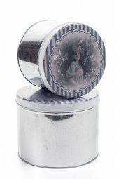 Decotown Oval 2li Metal Kutu