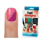 Hot Designs Tırnak Süsleme Kalemleri Tırnaka Boyama Kalemi Oje