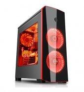 Izoly İcon Red Midt 2xled 350w Pencereli Gaming Ka...