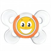 Chicco Physio Comfort Silikon Emzik 12 Ay+ Tekli Smile