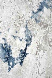 Karışık Renkli Gri, Mavi, Beyaz, Oturma Odası Halısı Hs97029et