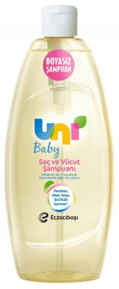 Unı Baby Boyasız Şampuan 750ml
