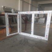 120x100 Orpen Çift Cam Tek Kanat Pencere