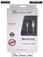 Awetron Apple İphone Lisanslı Kablo (5 Yıl Garanti...
