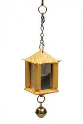 Kardelen Fener Ayna Kuş Kafesi Aksesuarı