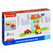 1824 Fısher Prıce Roadway Set With House G