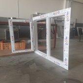 130x120 Orpen Çift Cam Tek Kanat Pencere