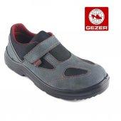 Gezer 1453 İş Güvenlik Ayakkabısı Yazlık Gri Süet 44 No