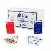 Oyun Kağıdı Star Poker (2li Deste).